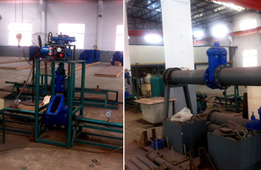 Our En1074-2 Test for Gate Valve